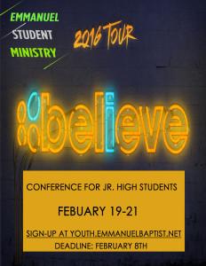 Believe Poster2016